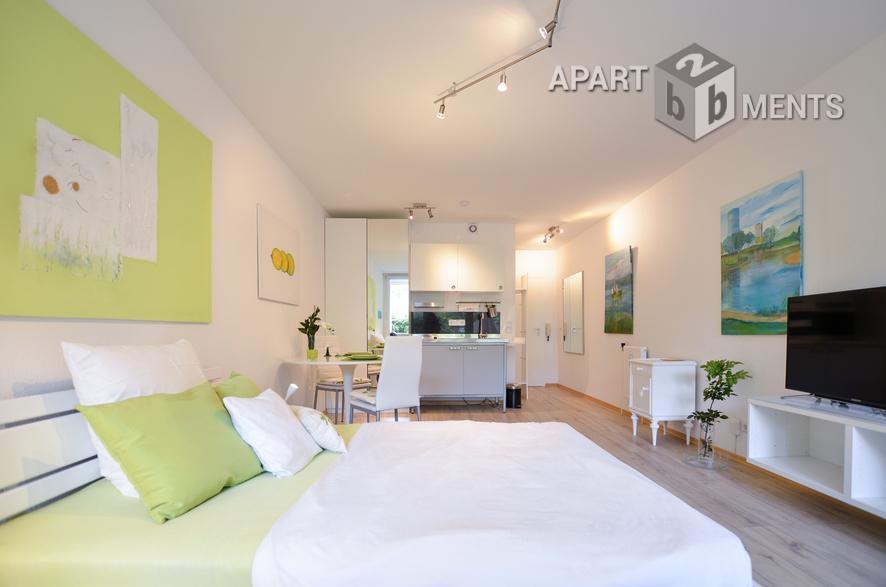 Möbliertes und helles Apartment mit Loggia in ruhiger Lage in Bonn-Hochkreuz