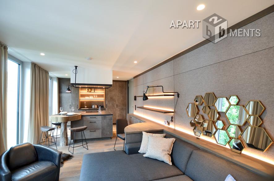 hochwertig möbliertes Luxus-Studio-Apartment in Bonn-Zentrum