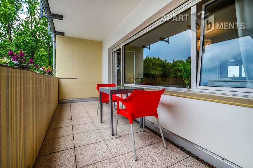 Möblierte und geräumige Wohnung in Bonn-Hochkreuz nah Plittersdorf