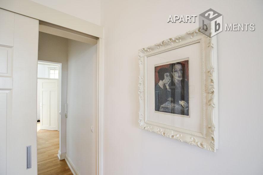 geschmackvoll eingerichtete, komfortable Wohnung der Top-Kategorie in begehrter Südstadtlage