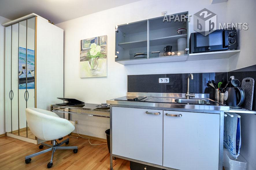 modern möbliertes Mini-Apartment in Bonn-Castell