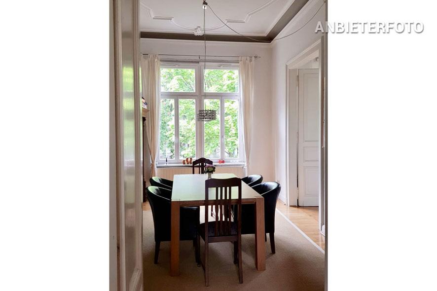 möblierte und geräumige Wohnung in der Bonner Südstadt