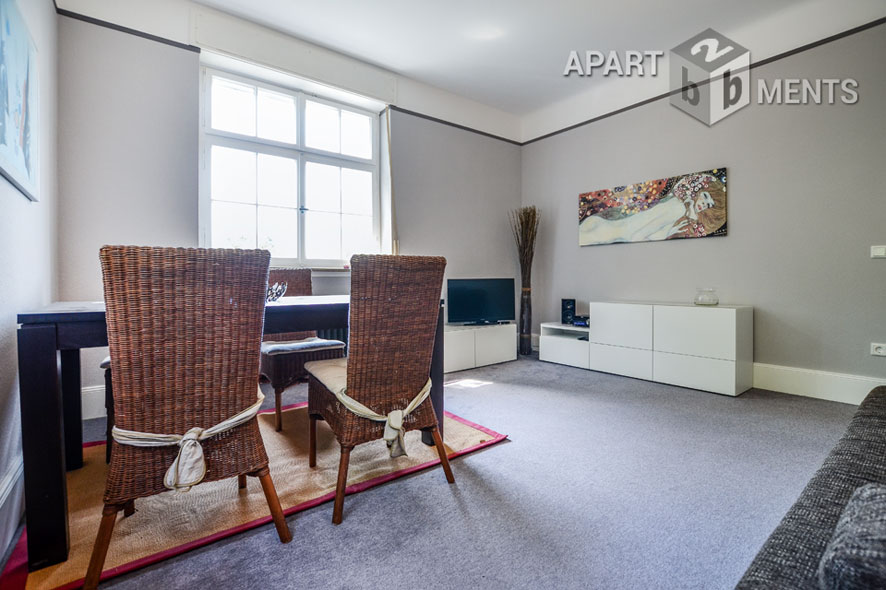 Hochwertig möblierte Wohnung in Bad Honnef mit tollen Ausblicken