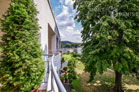Furnished flat with view of the Rhine from the balcony in Bonn-Plittersdorf