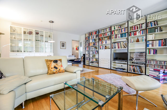 furnished and spacious apartment in Bonn-Plittersdorf