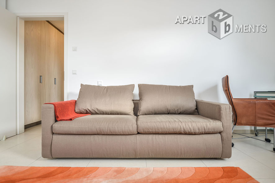High quality furnished and spacious maisonette in Bonn-Beuel-Mitte