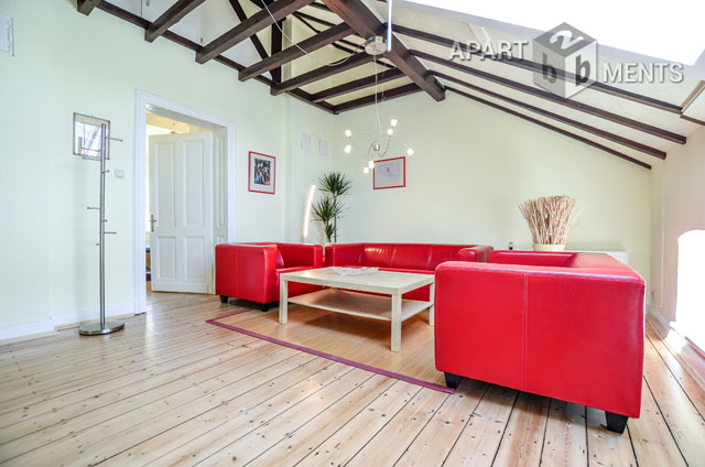 modern furnished apartment in an old building in a quiet location of Bonn Beuel-Ost