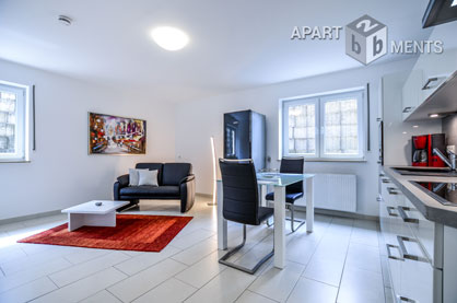 Furnished apartment in a quiet residential area of Sankt Augustin-Hangelar