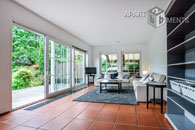 Furnished detached house in mediterranean style in Bonn-Beuel-Süd