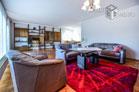 möblierte und geräumige Wohnung mit Garten in Bonn-Plittersdorf