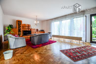 Furnished and spacious flat with garden in Bonn-Plittersdorf