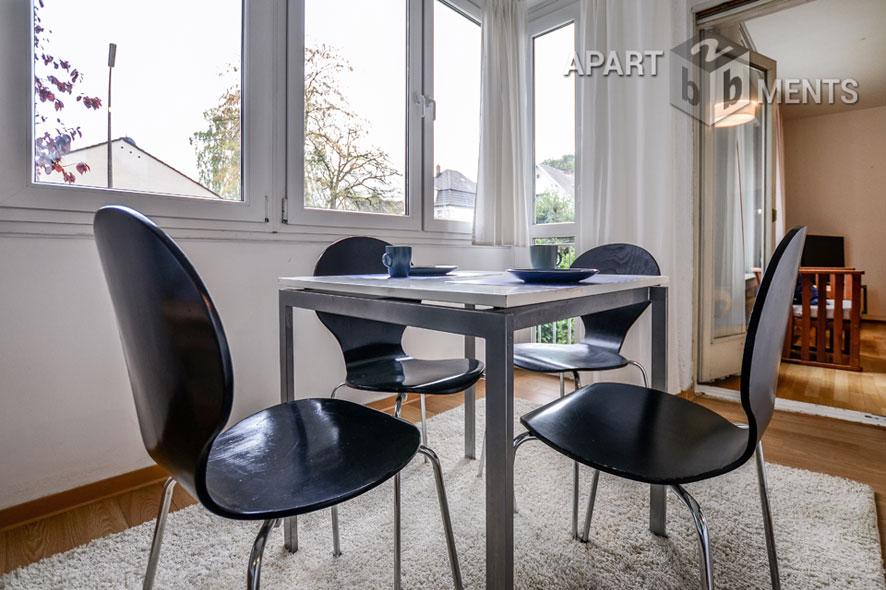Möblierte Wohnung in ruhiger Wohnlage von Bonn-Muffendorf