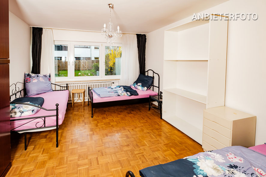 möbliertes Einfamilien-Reihenmittelhaus mit Garten in Bonn-Castell