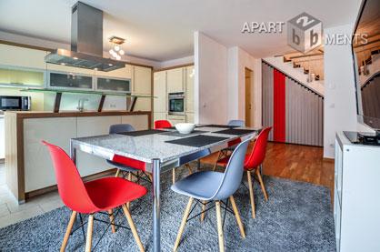 Moderne Maisonette zentral und  trotzdem ruhig gelegen in Bonn-Nordstadt