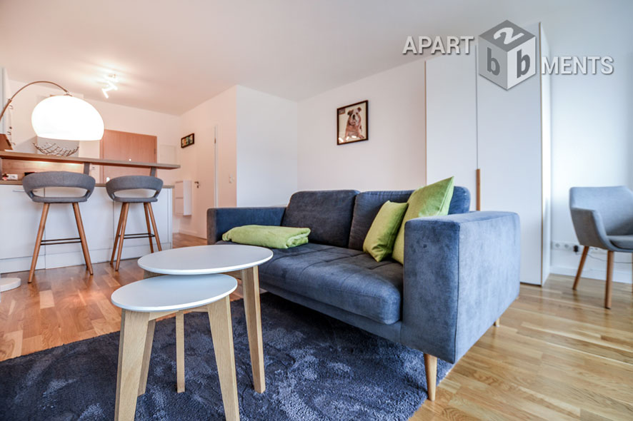 Modern and high-quality furnished apartment in Bonn-Limperich