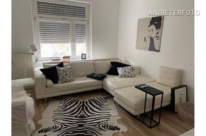 Modern möblierte Wohnung zentral in Bonn-Nordstadt
