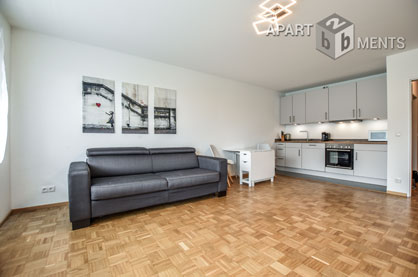Möbliertes Apartment mit Blick auf Drachenfels und Rheintal in Bonn-Muffendorf